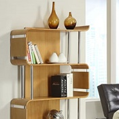 Forme Office Book Case Oak