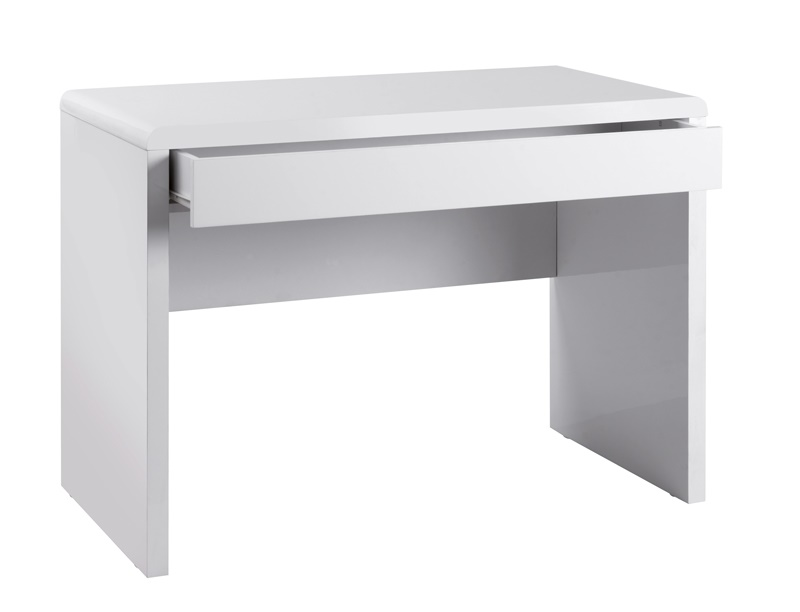 white computer glass desk uk office co workstation amazon u dp kitchen and gloss home