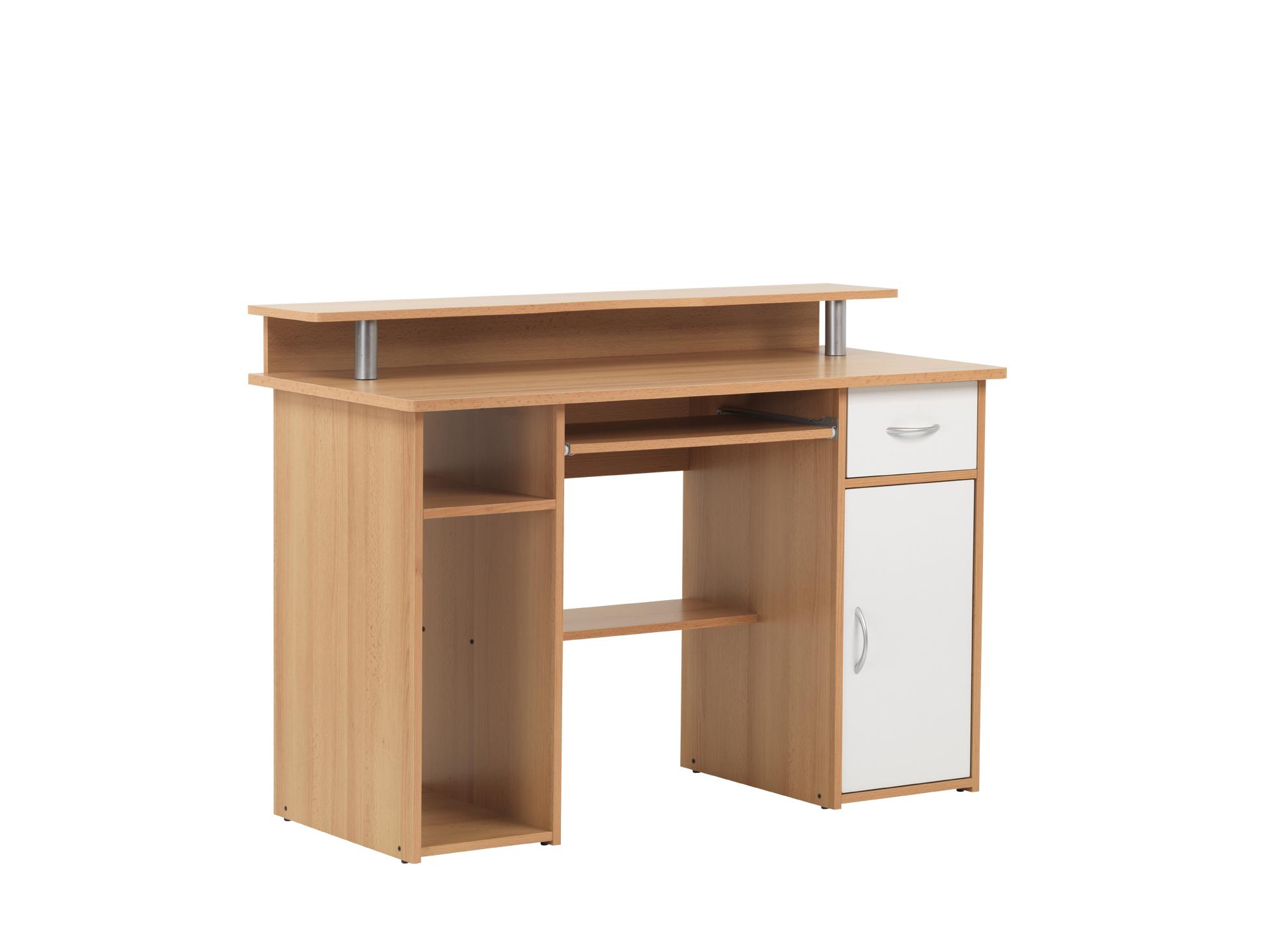 Computer Desk 362a Beech