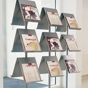 Brochure Display Six