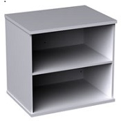 Deluxe Desk High Office Bookcase DHBC