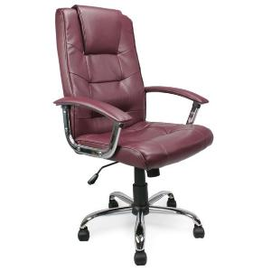 Office Chair 008 Burgundy