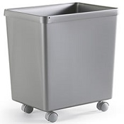 Recycling Bin T10 on Castors