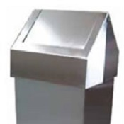 Recycling Bin 55 Stainless Steel