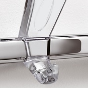 Coat rail 523 Transparent