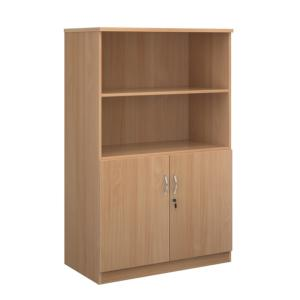 Deluxe Office Wood Storage Combination Cupboard Work 1600