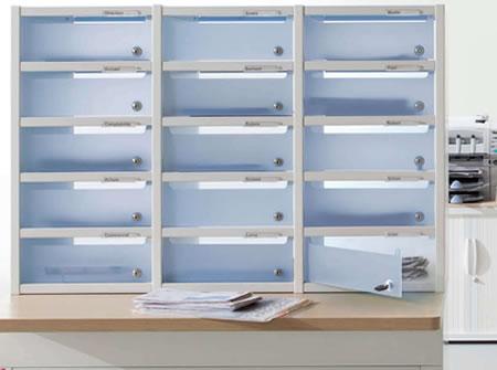 Lockable Pigeon Holes Post Room Furniture Mail Room