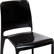 Cafe/Breakout Chair Ellie Black Pack Of Four