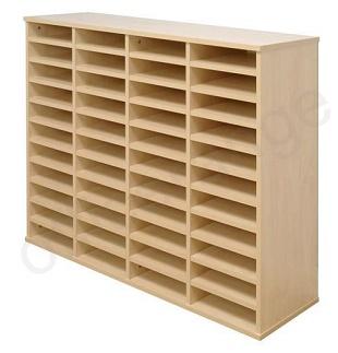 44 Pigeon Hole Sorter Unit Post Room Furniture