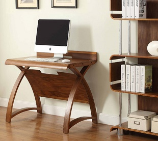 Computer Desk Forme 03 Walnut 900