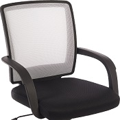 Mesh Office Chair Shape White