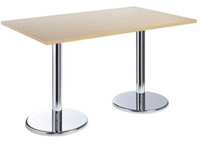 Cafe / Breakout / Meeting Table Prime Rectangular 1600 Beech