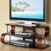 Forme TV Stand 203 1100mm Walnut