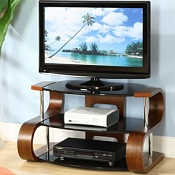 Forme TV Stand 203 850mm Walnut