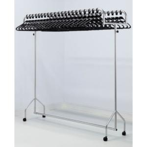 Twin Garment Rail 18 With Hangers