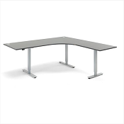 Sit - Stand Height Adjustable L Shaped Desk Energy 2000mm x 2000mm