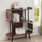 Salzburg Short Bookcase Walnut