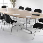 Spin Flip Top Meeting Tables