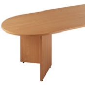 Radial End Boardroom table EB24