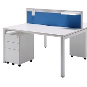 Two Person Bench Desk Easy