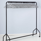 Coat Rail CH30 With Captive Hangers