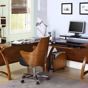Forme Home Office Furniture Walnut
