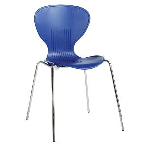 Cafe Chair Sky Three Blue Box Of 4