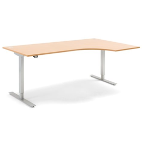 Sit Stand Height Adjustable Desk Ergonomic Energy 2000 x 1200mm