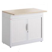 Pigeon Holes Style Mailroom Tambour Cupboard