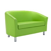 Fast Tub Sofa Lime Green