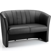 Neptune Two Seater Sofa Black