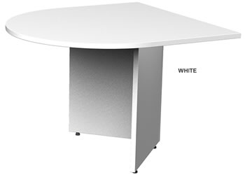 Boardroom Tables White Colour Sample