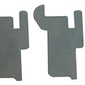 Desk Accessory Rail Brackets