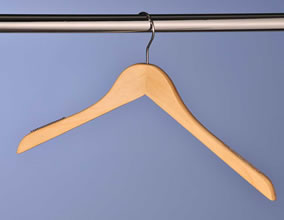 Wooden Coat Hangers Pack 100