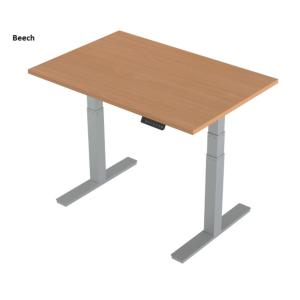 Sit Stand Height Adjustable Desk Active 1400 x 800mm