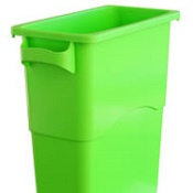 Office Recycling Bin Ecco 60 Litre Green