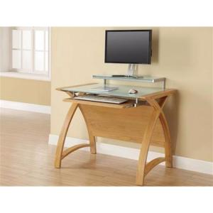 Computer Desk Forme 900 Oak/White