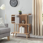 Dallas Short Bookcase Oak