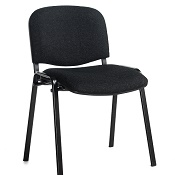 Conference / Meeting Chair Aquarius Black Frame And No Arms Box Of 4