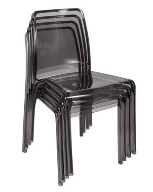 Cafe/Breakout Chair Ellie Smoke Pack Of Four