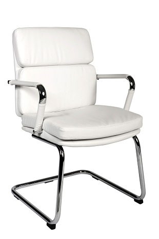 Visitor Chair Style White