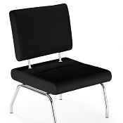 Flow Reception Chair Without Arms