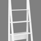 Ladder Style Shelving Unit Stage