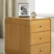 Forme Pedestal Three Drawer Unit Oak