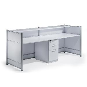 Welcome Reception Desk White