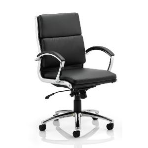 Office Chair Classe Medium Back Black