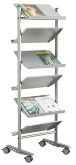 Literature display Stand V6 PV
