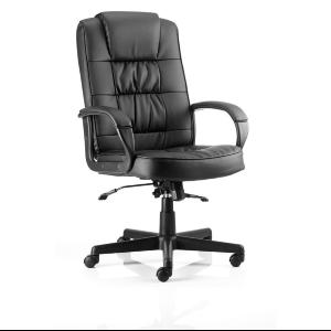 Office Chair More Black Leather