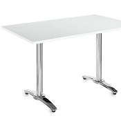 Cafe / Breakout / Meeting Table  Bologna 1300 White
