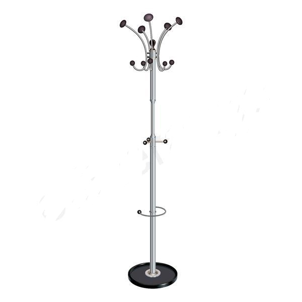 Chrome Coat Stand Stands Hat And